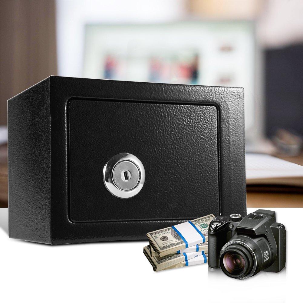 Security Safe box, capacit/à di sicurezza in acciaio box Wall Safe box Money box di sicurezza con 2/chiavi con serratura per casa ufficio hotel  W230/MM x D173/MM x H170/MM