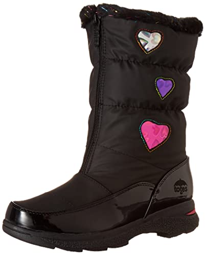 f089781ecf09 totes Girls Heartful Waterproof Snow Boot