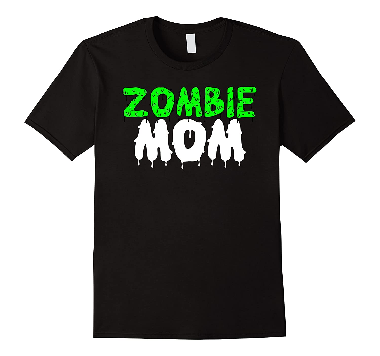Zombie Mom Funny Zombie Costume Halloween Shirt-FL