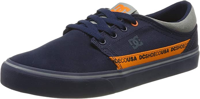 DC Shoes Trase TX SE Sneakers Herren Blau/Grau/Orange