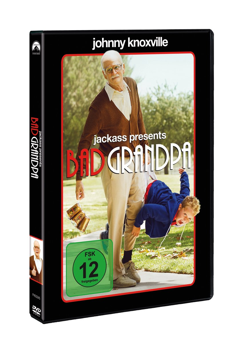 Jackass Presents Bad Grandpa [Alemania] [DVD]: Amazon.es: Jackson Nicoll, Georgina Cates, Blythe Barrington-Hughes, Sam Spiegel, Jeff Tremaine, Trip Taylor, ...