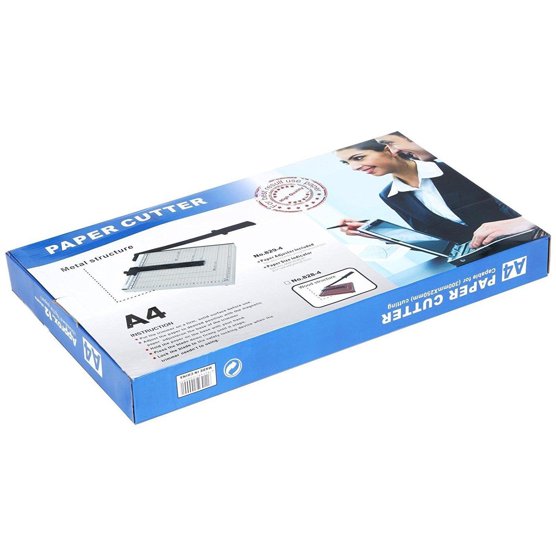 Evokem Tissue Paper Trimmer/Cutter,A4, B5, A5, B6, B7 Paper Cutter Guillotine,Wood Board by Evokem (Image #7)