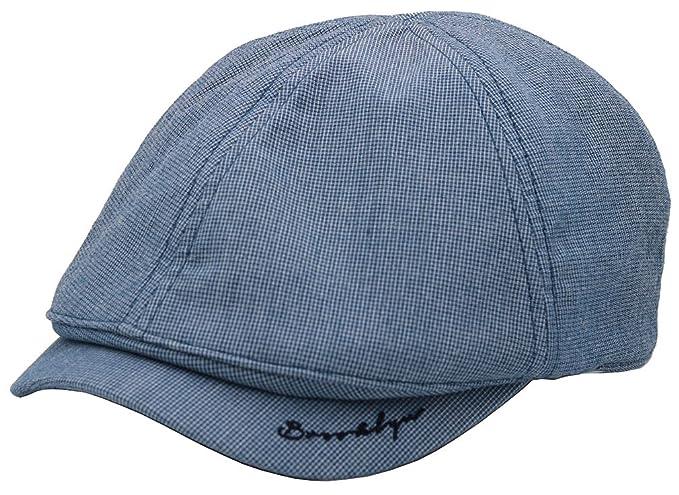 ... QUVIC Newsboy Beret boina Cabbie Hat sombrero de cabbie Hunting Cap  sombrero de caza gorra de golf tapa del conductor Blue  Amazon.es  Ropa y  accesorios 973603d65eb