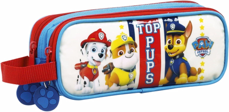 Paw Patrol - Estuche oficial de la Patrulla Canina (Doble/Multicolor): Amazon.es: Ropa y accesorios