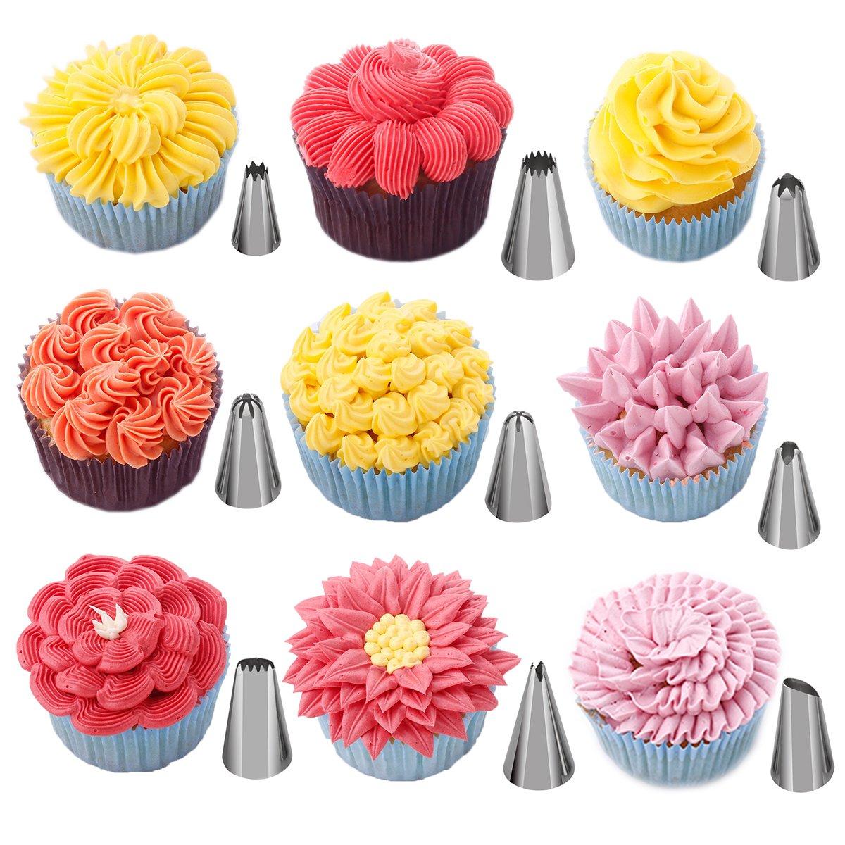 Amazoncom 27PCS Cake Decoration Tips Set 24PCS W Plus
