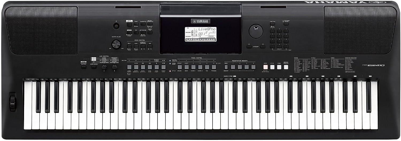 Teclado portátil Yamaha PSR-EW410 de 76 teclas: Amazon.es ...