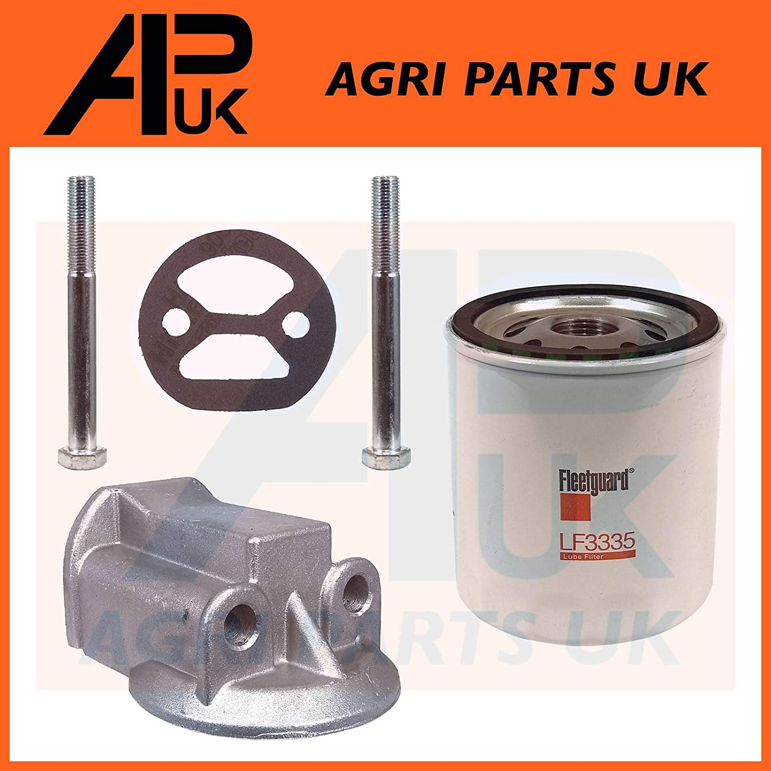 APUK BMC 1.5 1500 Marine Boat Engine Oil Filter Conversion Kit Compatible with Thornycroft Westerbeke
