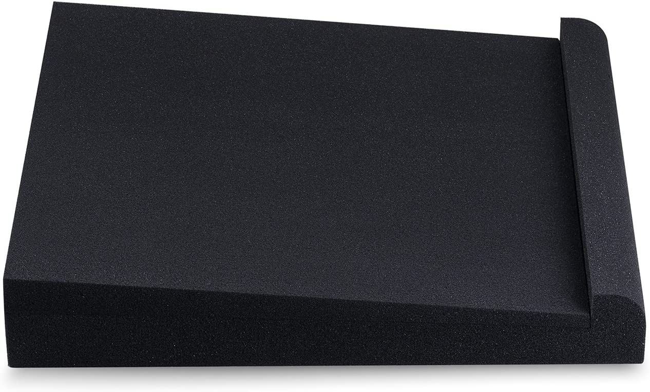 SMPad 8 Studio Monitor Isolation Pads suitable for 6.5 Reduce Vibrations and Fits most Stands Sound Addicted Pair 7 and 8 Inches Large Speakers