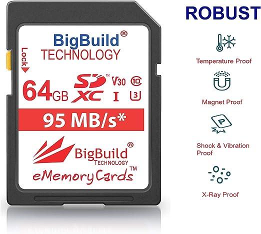 Bigbuild Technology 64gb Uhs I U3 95mb Elektronik
