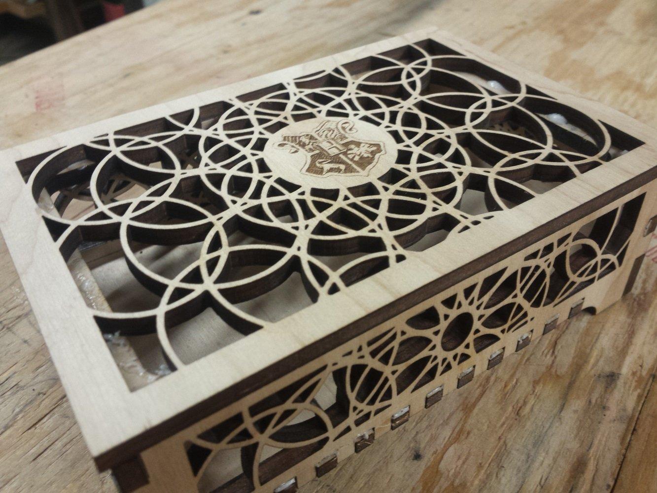 Harry Potter Wooden Box   Harry Potter Jewelry Box/Desk Chest   Harry Potter Gift