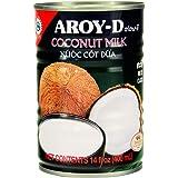Aroy-D Coconut Milk, 14 Ounce (Pack of 12)
