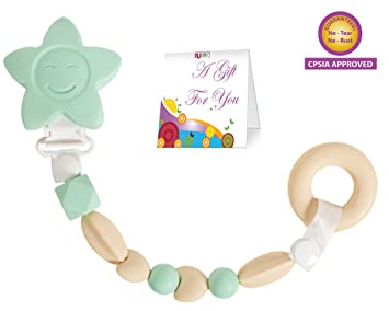 Amazon.com: Clip para chupete de juguete para adolescente ...