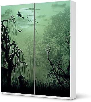 Papel de diseño para armario IKEA PAX 236 cm Altura - puerta corrediza | Muebles adhesivas película pegatinas de papel de aluminio pegatinas muebles embellecer | Habitación & Dekorieren Schlafzimmer-Dekoration DIY |