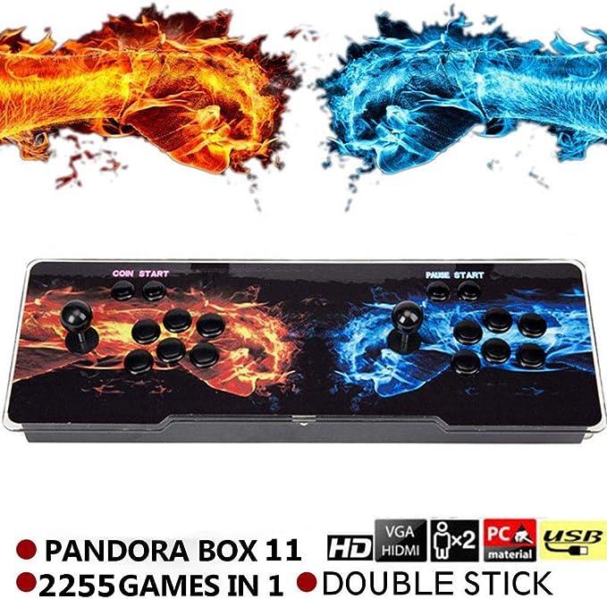 Amazon.com: Consola de videojuegos SeeKool Pandora 11 Arcade ...