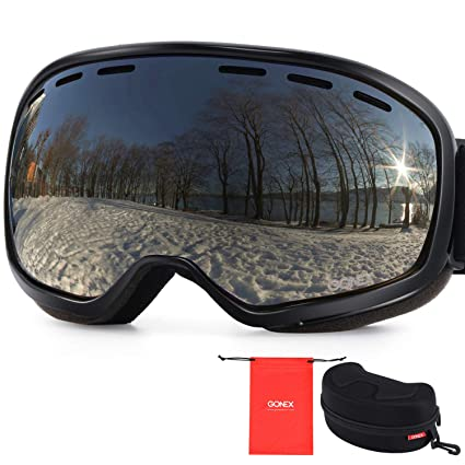 abf6e03d443 Amazon.com   Gonex Ski Goggles