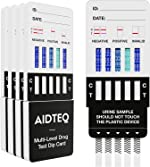5 x Aidteq Professional 5 Level Sensitivity Marijuana Rapid Drug Test