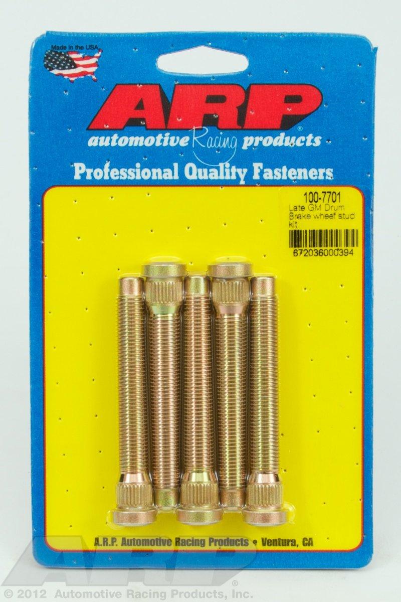 ARP Wheel Studs, Press-In Type, 7/16-20 in. RH Thread (100-7701)