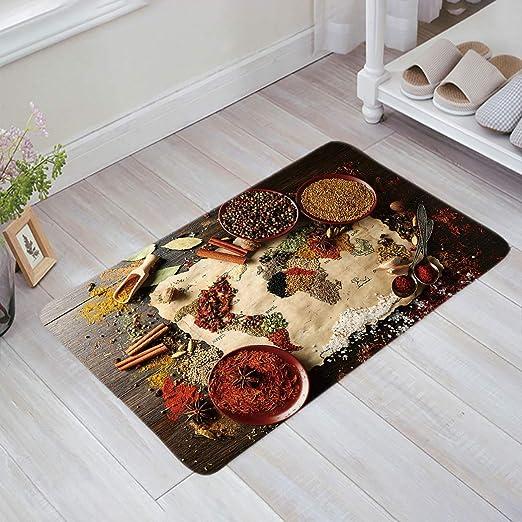 "24X16/"" Get Naked Funny Black Bath Mat Bathroom Carpet Area Rug Non-slip Doormat"