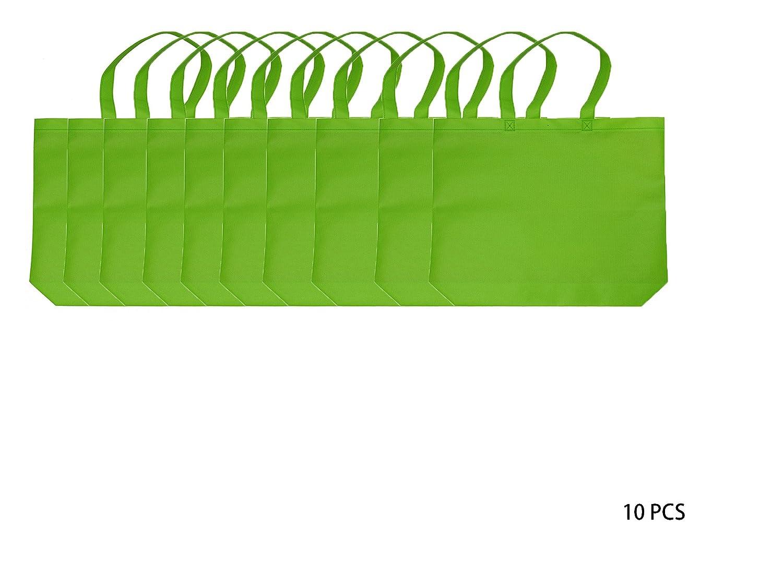【即納!最大半額!】 再利用可能なショッピングbags|不織布PP | Eco friendly| Conventional bags| Large Large B076V2Z45J sqare| | B076V2Z45J グラスグリーン グラスグリーン|10, アジェンダ:1059c6e8 --- 4x4.lt
