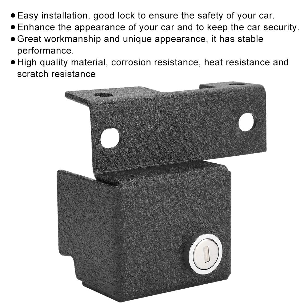Amazon com: KIMISS Car Locking Car Catch Lock with 2Pcs Keys