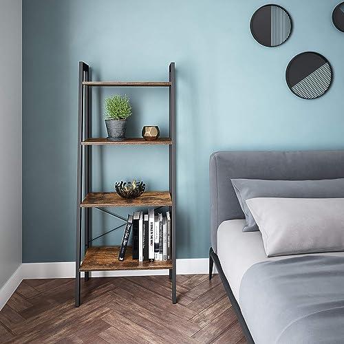 Best modern bookcase: Ballucci Industrial Bookshelf