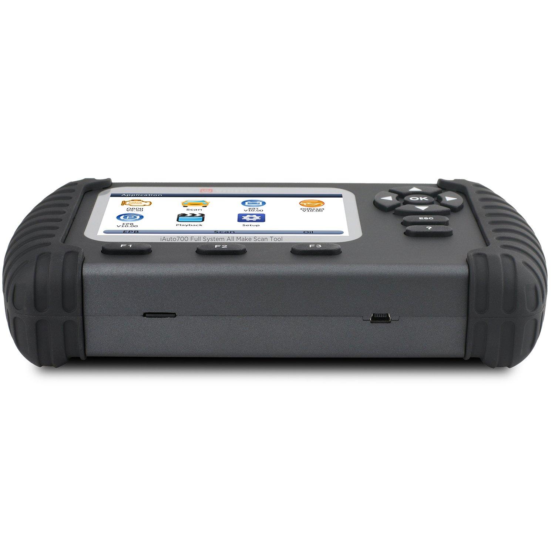 Strumento di diagnostica del sistema completo Lettore di codice professionale ILink700 per Reset olio EPB ABS SAS Airbag Reset Rigenerazione Configurazione batteria OBDII 12V Auto
