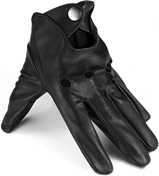Hot Sale Touch Screen Leather Gloves Fashion Mens Car Driving Winter Warm Gloves