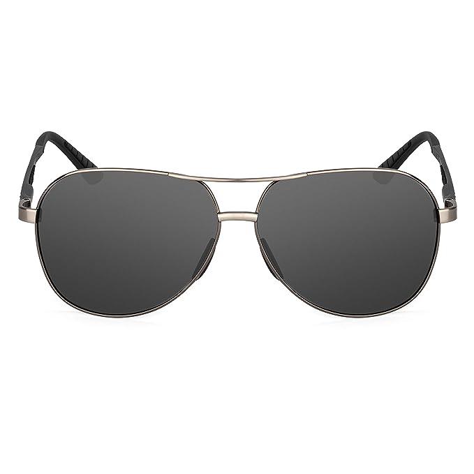 Amazon.com: XXL extragrande redonda Aviator anteojos de sol ...