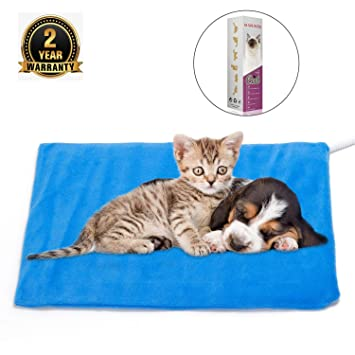 Amazon.com: Almohadilla de calefacción para perros y gatos ...