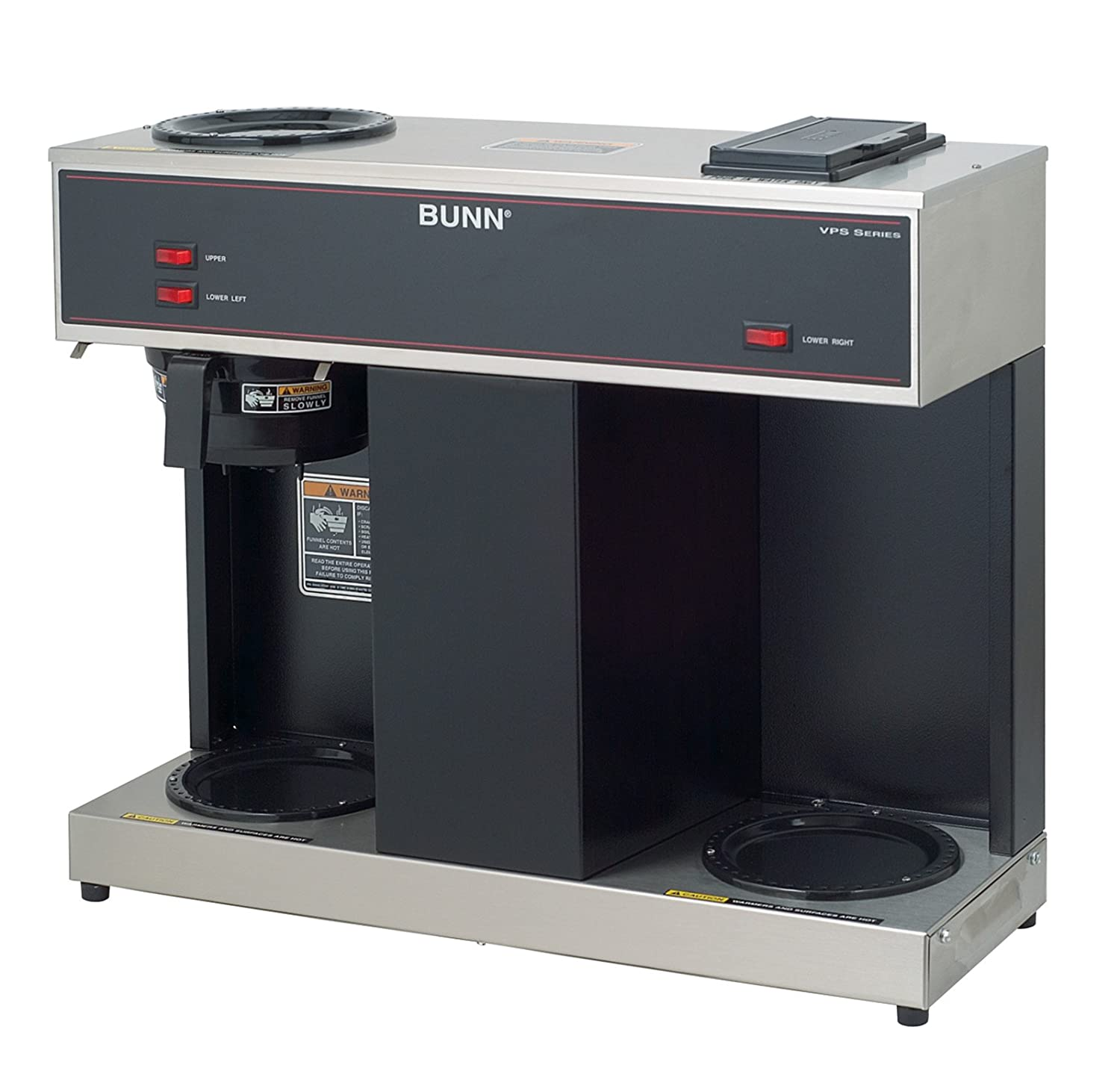 Commercial Coffee Maker ~ Bunn vps cup pourover commercial coffee brewer with