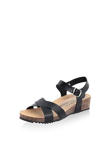 LA Comoda - Damen - Sandale - Glattleder - LC106_Black