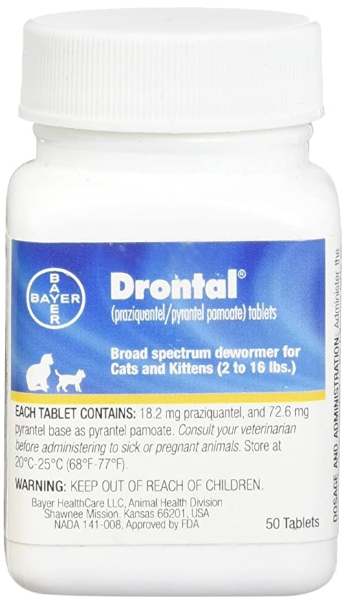Bayer Drontal Broad Spectrum Dewormer, 50 Tablets - The Best Value for Money Dewormer