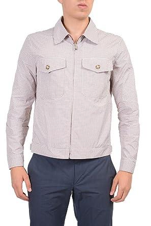 e7c38898 Prada Men's Multi-Color Windbreaker Jacket at Amazon Men's Clothing ...