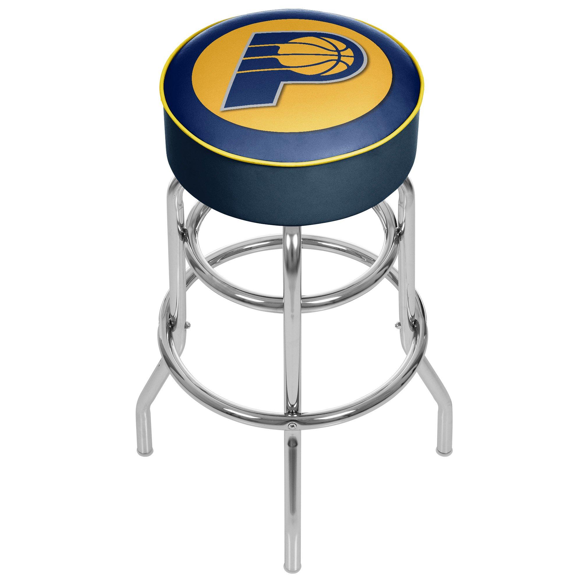 Trademark Gameroom NBA Indiana Pacers Padded Swivel Bar Stool