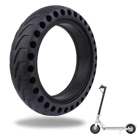 TOMALL Honeycomb Rubber Damping Solid Tire Reemplazo de la Rueda del neumático Delantero y Trasero de