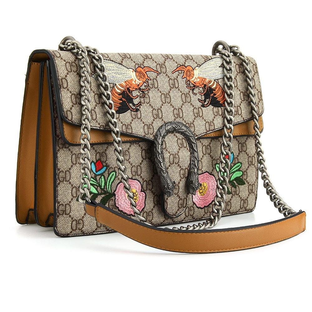 b2c3f08cb58 SSMY Cross-body Bag for Womens Handbag Designer Fashion Single Shoulder  Messager Bags  Handbags  Amazon.com