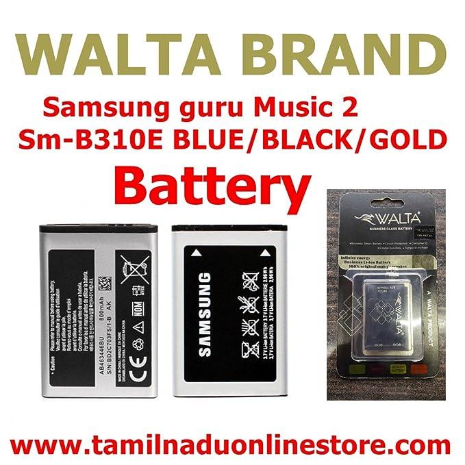Pcs System Battery Samsung Music 2 Sm B310e Samsung Guru Fm Plus Sm