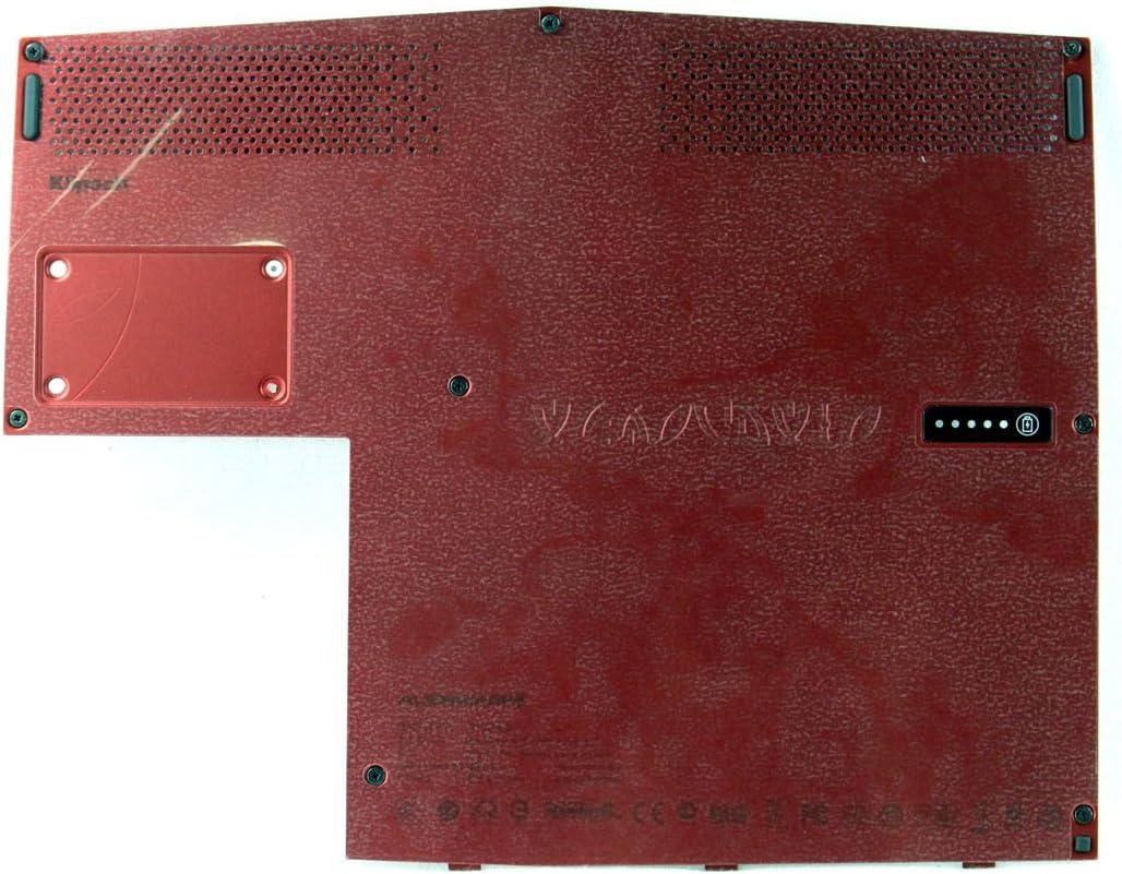 Dell Alienware M11x R3 Bottom Case Cover Door With Screws Red 1JV6D
