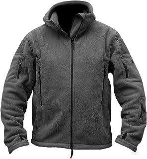 NBNNB Herren Herbst Winter Warm Winddicht Militär Taktisch Vlies Softshell  Jacke Bergsteigen Mantel mit Kapuze 2ad20f8f7b