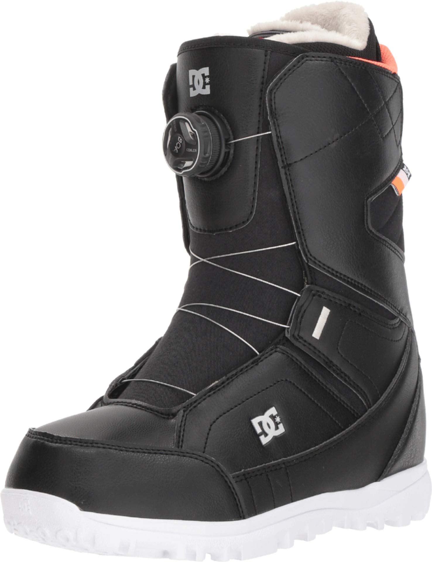 DC Search BOA Snowboard Boots Black Womens Sz 7 by DC