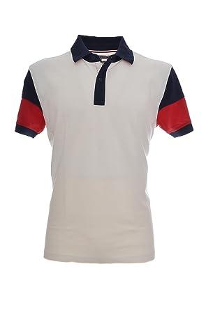 50025d36 Tommy Hilfiger Men's Regular Fit Pique Colour Block Polo Shirt Multi ...