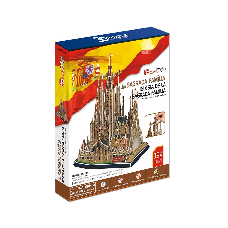 Sagrada Familia 3D Puzzle: Amazon.es: Juguetes y juegos