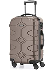 HAUPTSTADTKOFFER - X-Kölln - Bagage à main cabine Valise Trolley 4 roues extensible, TSA, 55 cm, 50 litres, Graphite