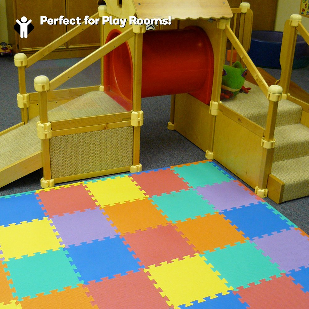 Amazon we sell mats 12 x 12 x 38 24 sq ft multi color amazon we sell mats 12 x 12 x 38 24 sq ft multi color interlocking foam mat toys games dailygadgetfo Choice Image