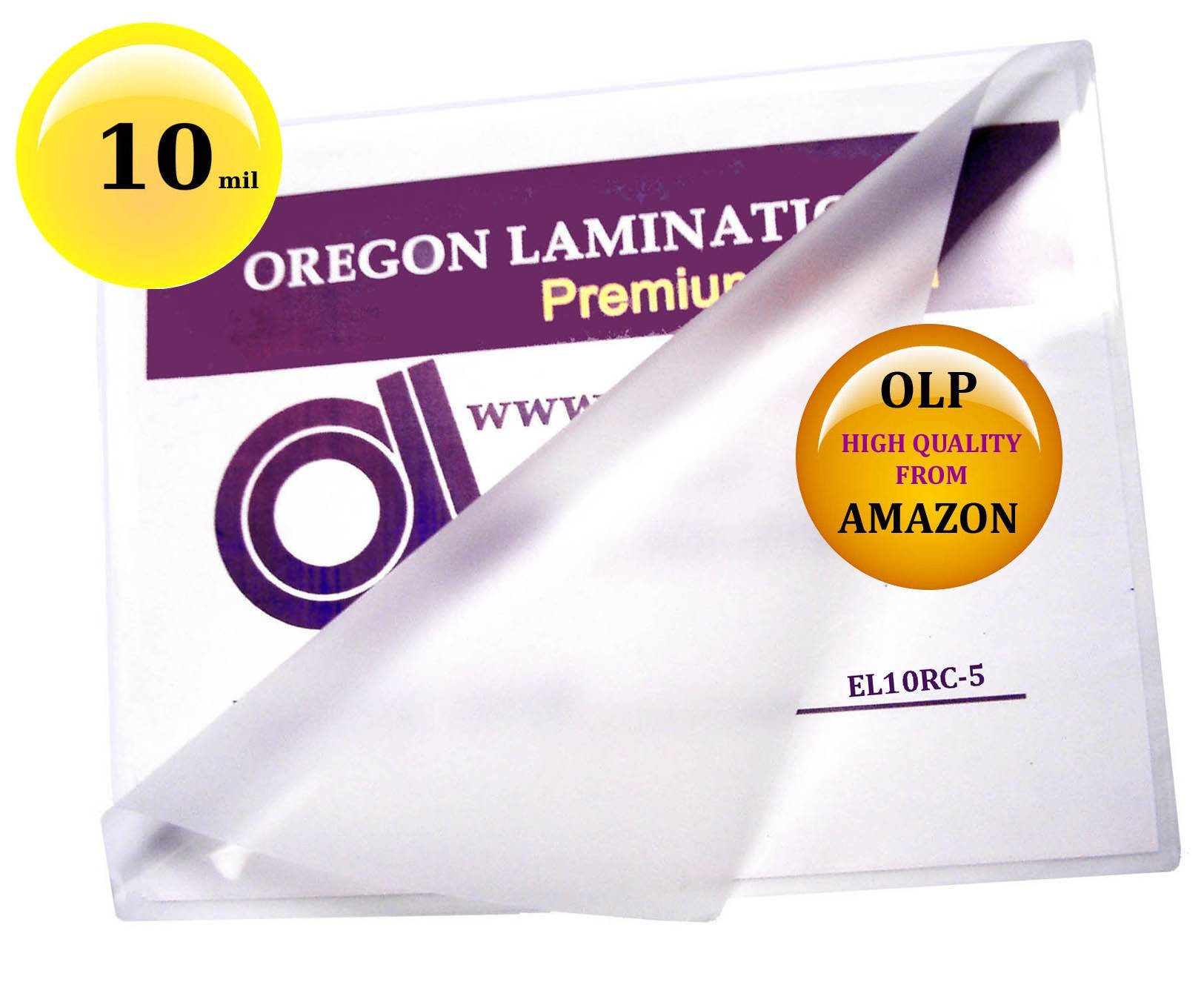 Qty 250 10 Mil Menu Laminating Pouches 12 x 18 Hot 12x18 by Oregon Lamination Premium