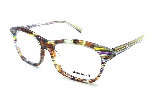 Alain Mikli Rx Eyeglasses Frames A03068 E412 53-16-140 Multicolored ...