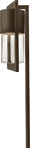 Hinkley 1547KZ Landscape Shelter Add Safety and Security to Walkways Ultra-Durable Path, 12-Volt, Aluminum Finish, 18w T-5 Light Bulb Include, 4.63 in. W x 22.5 in. H, Buckeye Bronze