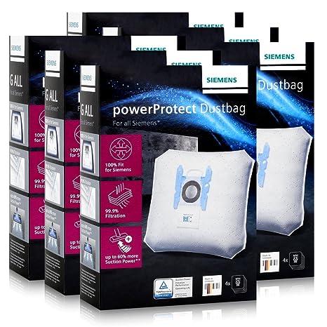 Siemens bolsas de aspiradora PowerProtect VZ41FGALL - Tipo G ...