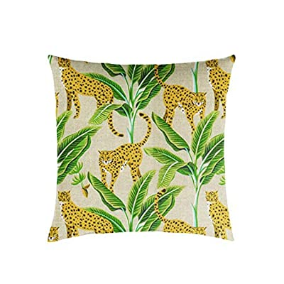Mozaic AMZ529911SP Pillow, Yellow/Green : Garden & Outdoor