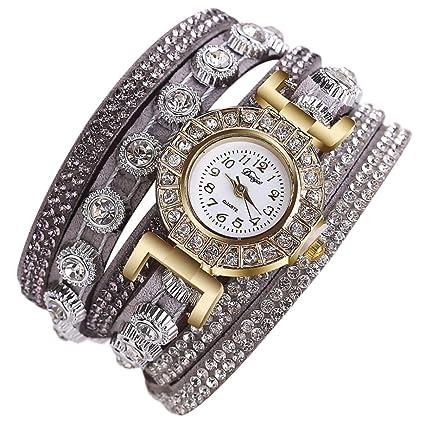 squarex Relojes para Mujer Cuadrados de Negocios Clásicos de Clásico Clásico Clásico Relojes CCQ Mujeres Moda